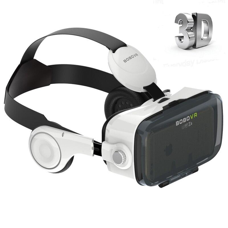 Original xiaozhai bobovr z4 hd google cartón realidad virtual 3d Caja de Vidrios