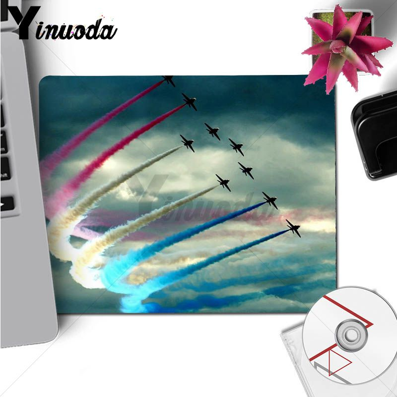 Yinuoda My Favorite Airplane fly travel cloud Unique Desktop Pad Game Mousepad Size for 18x22cm 20x25cm 25x29cm