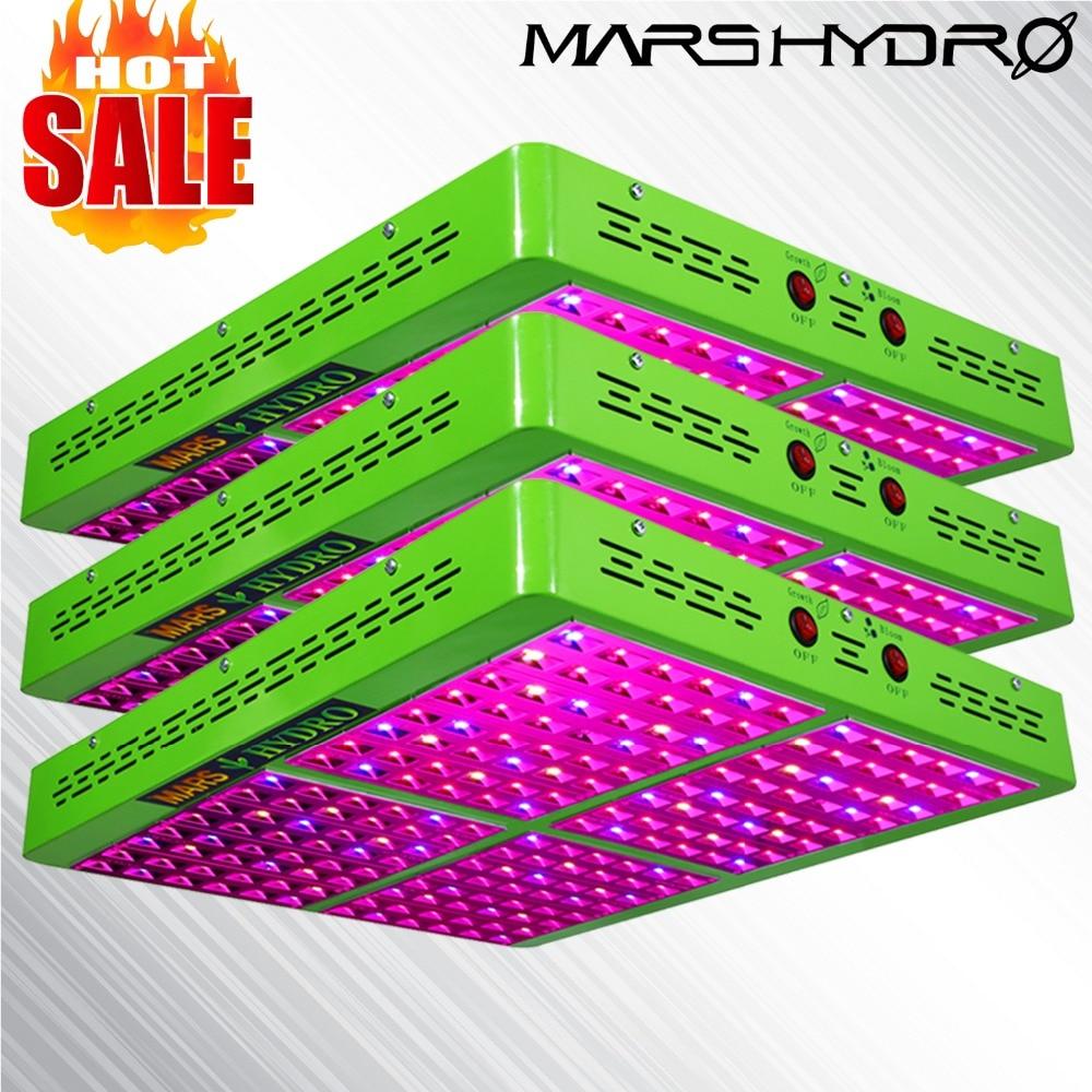 3 PCS MarsHydro Riflettore 960 W LED Coltiva La Lampada Idroponica Luce per Giardino Interno/Scatola