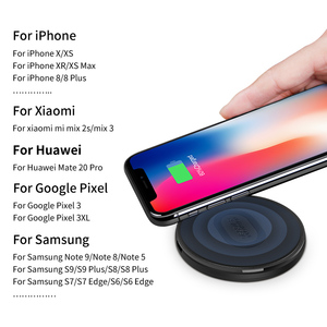 Image 5 - NILLKIN 10 W fast Qi Wireless Charger สำหรับ iPhone X/8/XS/XR Fast สำหรับ samsung S8/หมายเหตุ 8/S9 โทรศัพท์ USB Charger Pad
