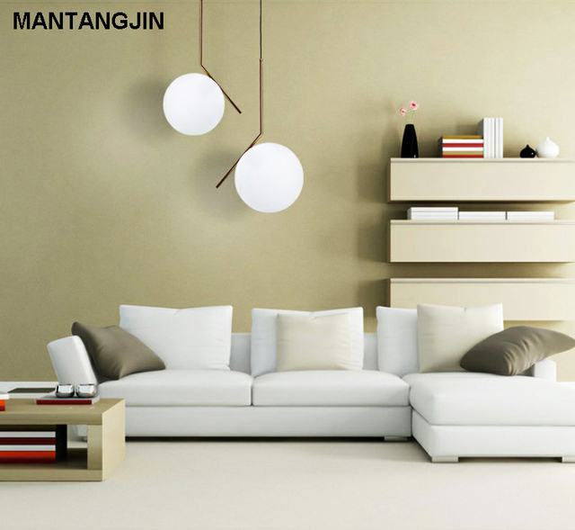 E27 style moderne salon chambre minimaliste restaurant pendentif ...