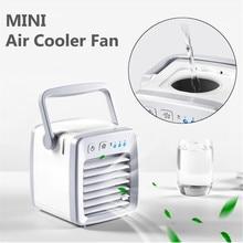 Портативный мини-вентилятор для кондиционера персональный космический вентилятор кулер USB Охлаждающий увлажнитель воздуха, быстро легко охладить для дома