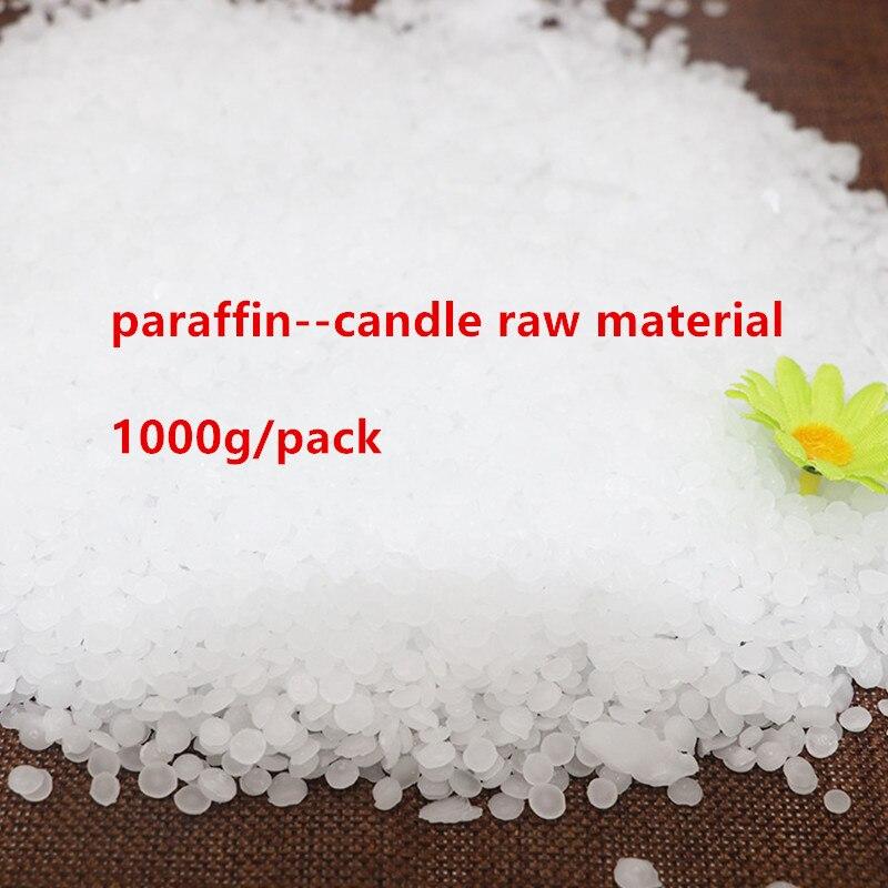 Kerze Rohstoff 1000 gr/paket Hohe Qualität Paraffin Wachs Kerze Wachs Rauchfreien DIY Kerzen Lieferungen Machen Handgemachte Geschenk