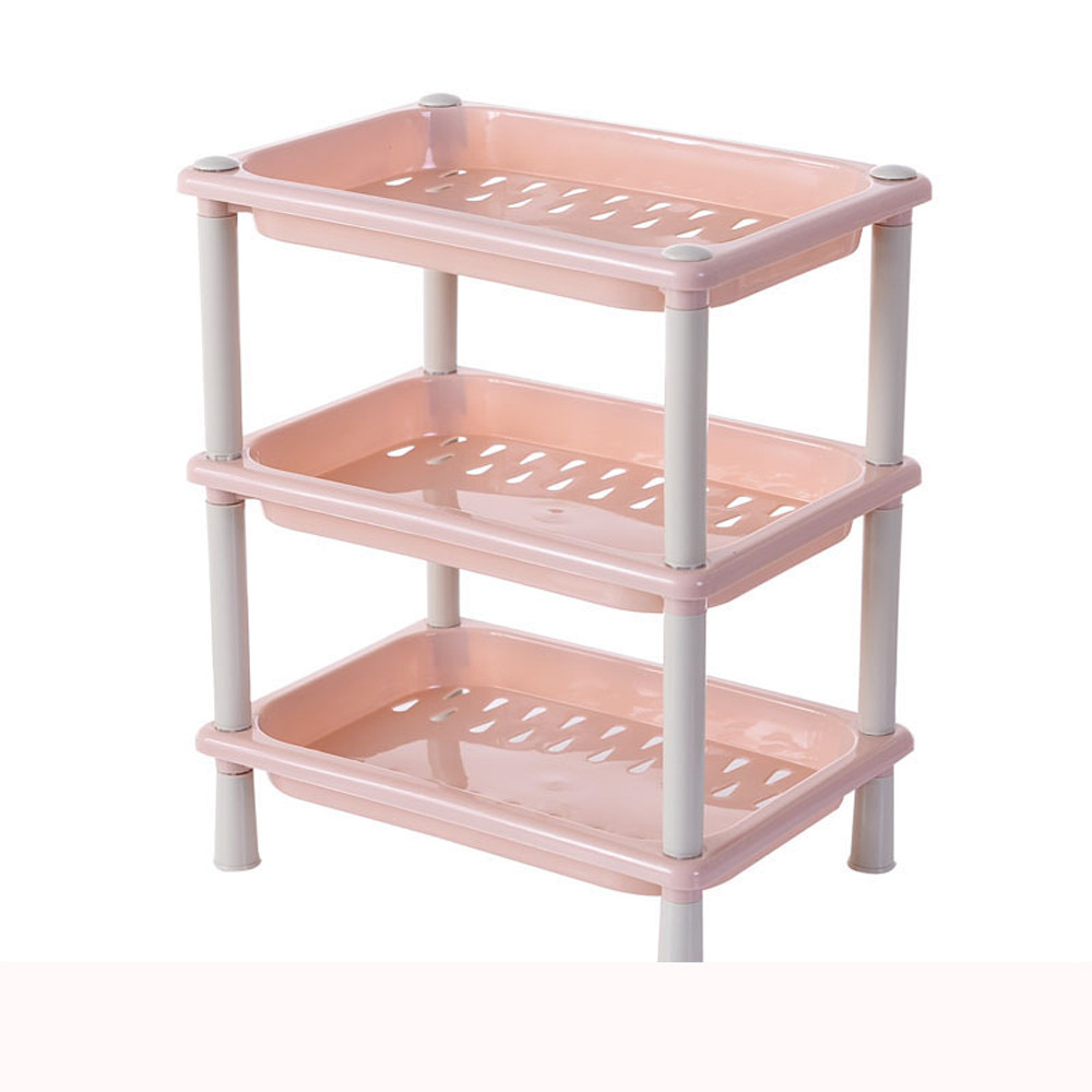 b1d03f2cf577 3 Tier Plastic Corner Organizer Bathroom Caddy Shelf Kitchen Storage Rack  Holder Kitchen Spoon Pot Shelf Pot Cover dispenser-in Storage Holders &  Racks from ...