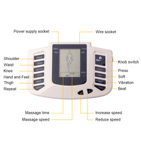 health care Electronic body massager tens muscle stimulators myostimulator acupuncture electric massagers for the body medical