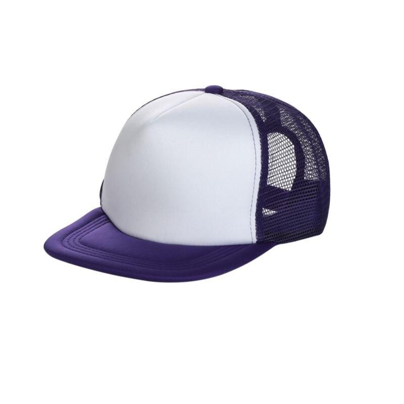 6ba8425bcc0 Plain Trucker Hats For Men Women Spring Summer Blank Mesh Snapback ...