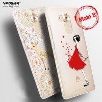 Huawei Mate 8 3d Tpu Cartoon Case Original Vpower Case Cover For Huawei Mate8 Back Cover