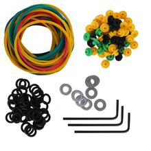 Pin-Cushion Tattoo-Machine-Rubber-Bands Replacement-Accessories-Set Coil-Supplies-Kit