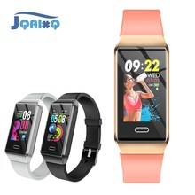 JQAIQ Sport Fitness Tracker Smart Band Heart Rate Blood Pressure Monitor Real Time Alram Clock Smart Bracelet For Ios Android все цены
