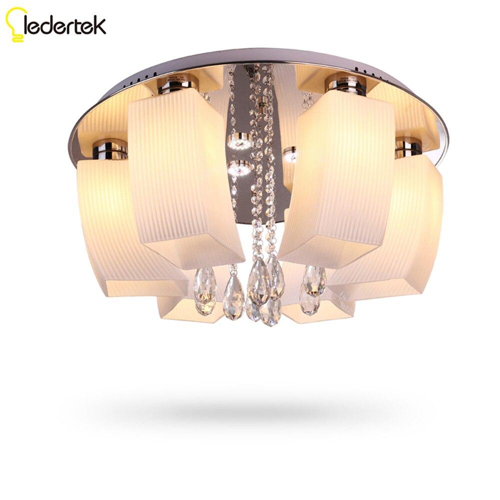 Новинка цветок LED Потолочные светильники для Гостиная Luminarias Sala потолочных светильников Спальня Освещение декоративные абажур
