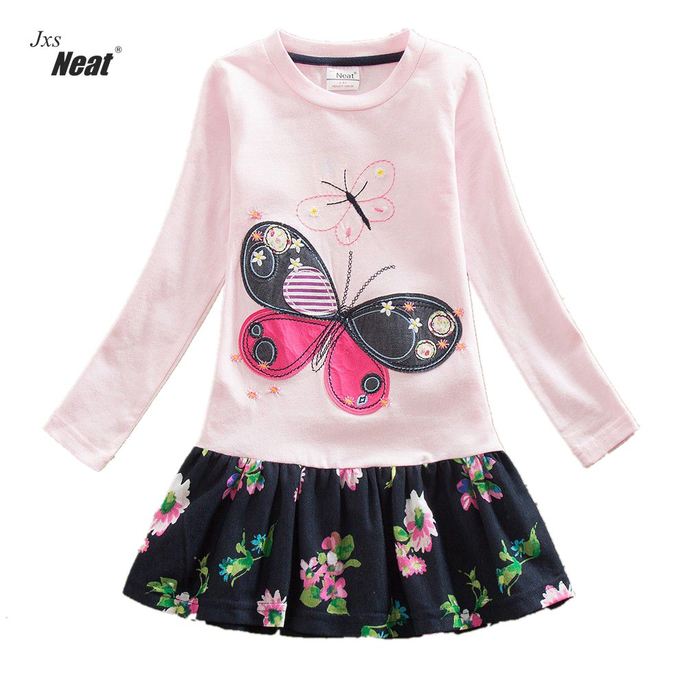 ᓂ2016 Retail baby girl ⊹ clothes clothes Long Sleeve girls ...