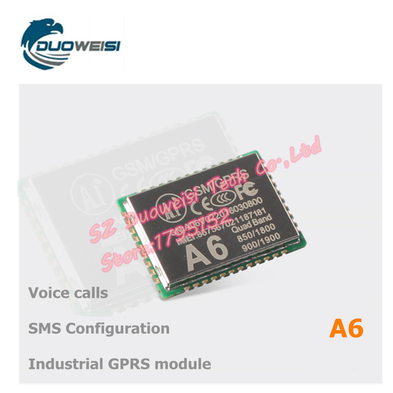 GPRS module GSM module A6 \ SMS \ voice \ board \ wireless data transmission gprs gsm sms development board communication module m26 ultra sim900 stm32 internet of things with positioning