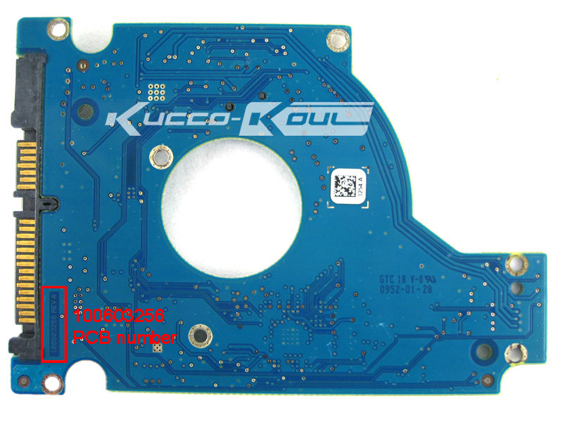 ST9320310AS ST9320312AS ST9640320AS PCB logic board printed circuit board 100603256 for Seagate 2.5 SATA hdd data recovery