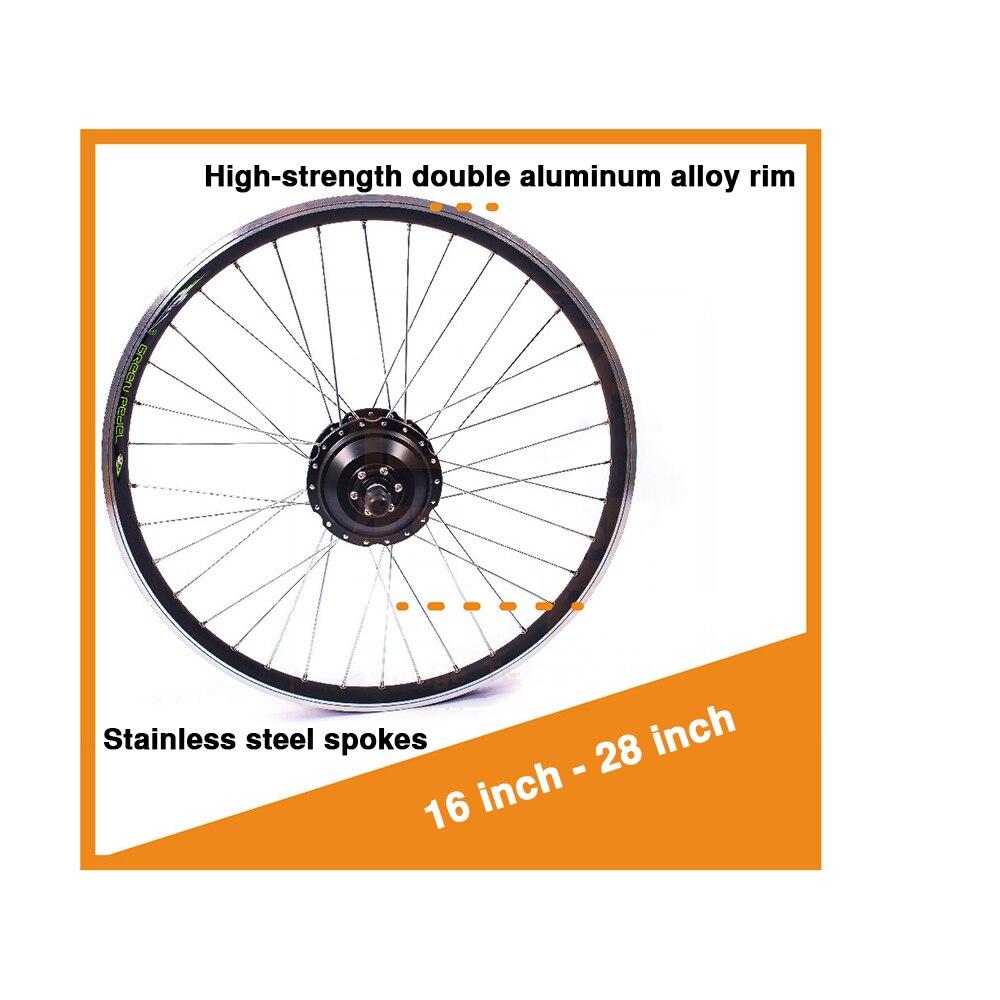 72V 3000W rower elektryczny zestawy do konwersji na e-bike silnik Para Bicicleta 20