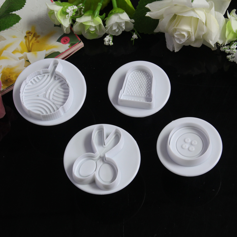 tailor button font cap scissor plastic plunger cutter cookie mold baseball cake for washing hat chocolate