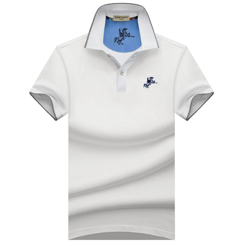 2018 New Men   POLO   Shirt Fashion   Polo   Homme Slim Fit Short-sleeve Camisa   Polo   shirts Men's Summer Plus size S-10XL
