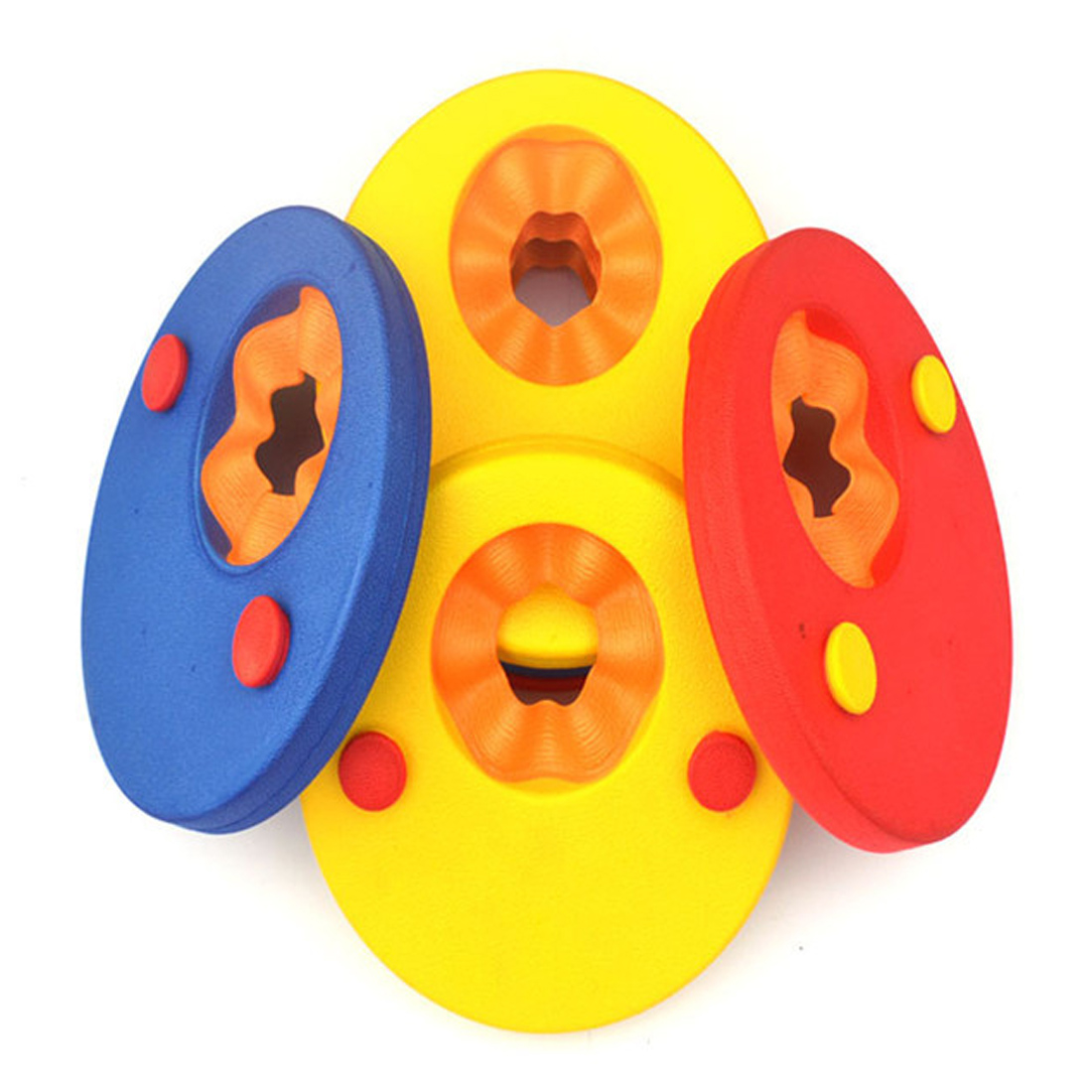 Hot 1PC Foam Baby Swimming Exercises Circles Rings Swim Discs Arm Bands Floating Sleeves Inflatable Pool Float Board Pool Toys