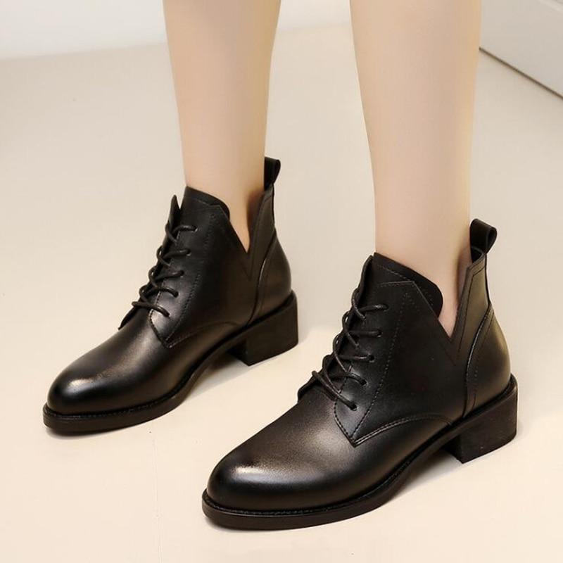 De Tobillo Invierno Impermeable Mujer Zapatos Sh89 Negro Tacón Botas Lluvia Clásica Agua Oq7566