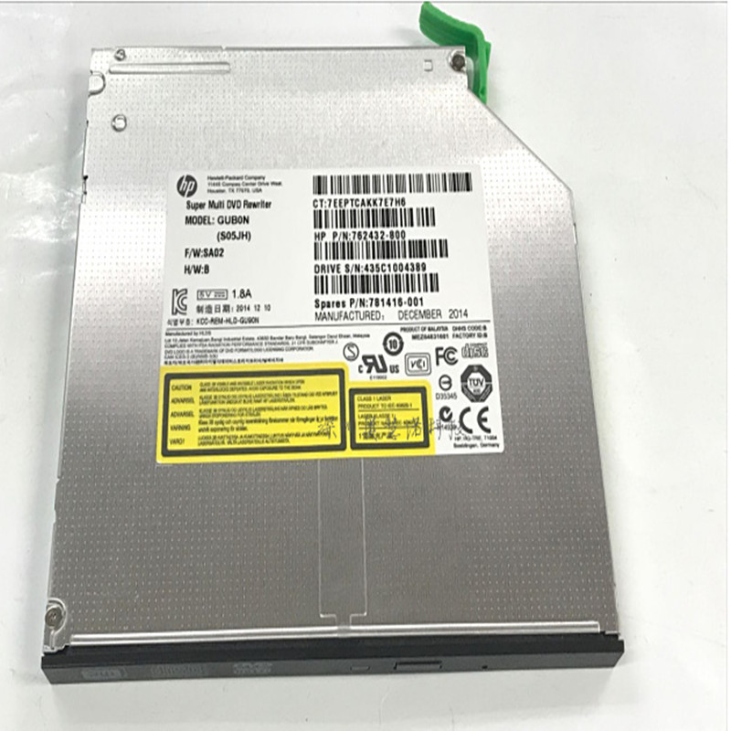 US $24 99 |The new original 9 5mm ultra thin DVDRW for HP workstation  optical drive Z240 Z440 Z640 built in DVD recording optical drive-in  Optical