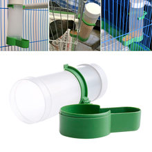Pet Bird Drinker Food Feeder Waterer Clip for Aviary Cage Budgie Lovebirds(China)