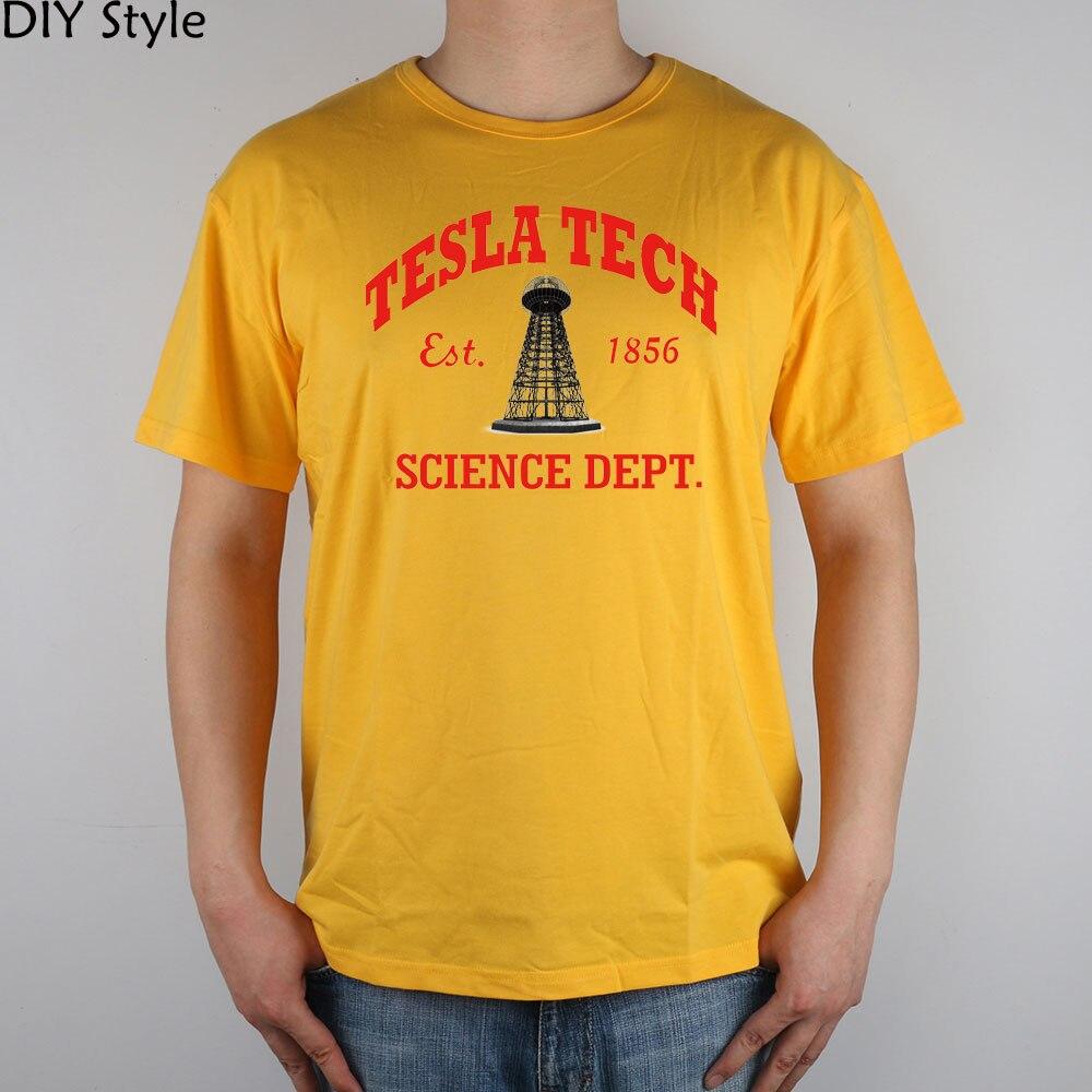 TESLA GWC KK TECH SCIENCE camiseta Top Lycra algodón Hombres - Ropa de hombre - foto 4