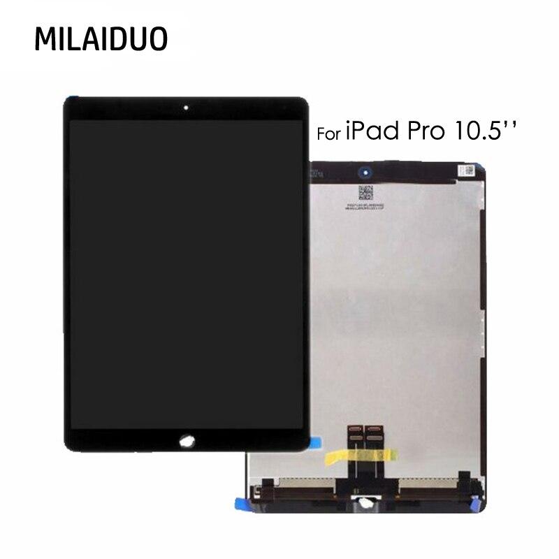OEM ЖК-дисплей для iPad Pro 10,5 дюймов A1701 A1709 Сенсорный экран Стекло Digitizer Замена Полный Ассамблея Tablet