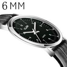 VILAM 2016 Reloj de Los Hombres Relojes de Primeras Marcas de Lujo Famoso Reloj Hombre Reloj de Cuarzo Reloj de Cuarzo reloj Relogio Masculino