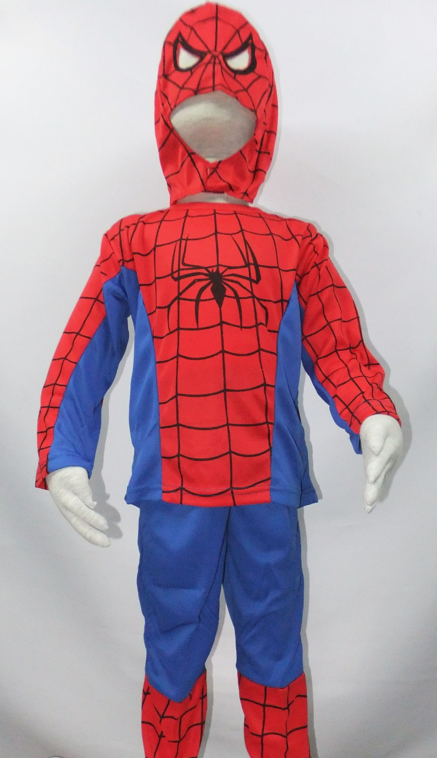1 years - 7 Years Halloween Party Cosplay costumes boy spider-man Role-playing clothing,kid Long-sleeved Play clothes