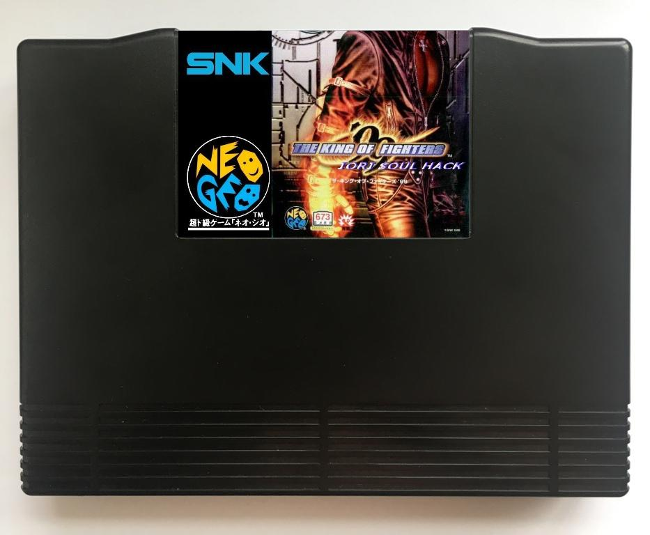 NEOGEO AES KOF 99 Iori Soul Hack(Hacked) Game Cartridge for SNK NEO GEO AES ConsoleNEOGEO AES KOF 99 Iori Soul Hack(Hacked) Game Cartridge for SNK NEO GEO AES Console