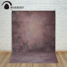 Allenjoy photo background pure color red ochre crimson professional pastel baby for photos shoot