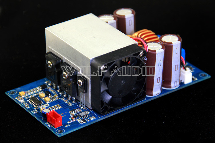 Finished IRFP4227 IRS2092S High Power 1000W Mono Class D HIFI Digital Power Amplifier Board tas5630 amplifier class d board high power finished boards mono 600w for subwoofer or full range diy free shipping