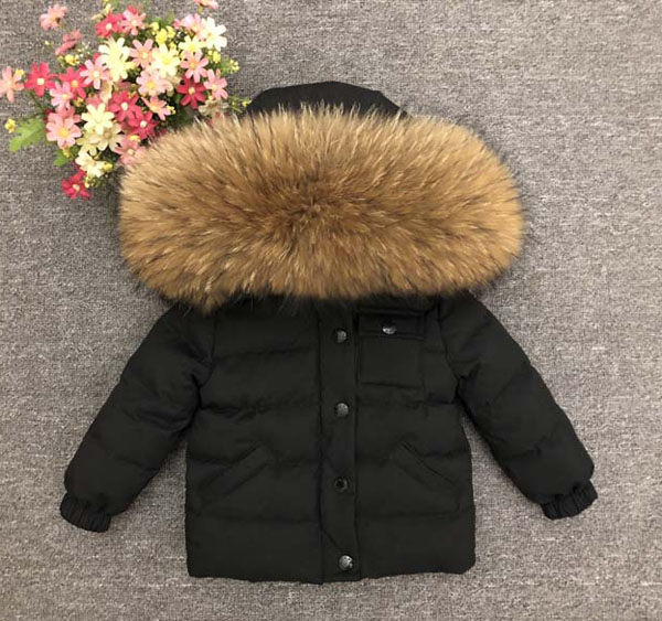 Children s thick down jacket for boys and girls short down jacket winter weather