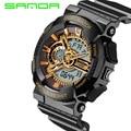 Watches Male SANDA Fashion Watch Men Style Waterproof Sports Military Watch S Shock Men Luxury Analog LED Quartz Digital Watch