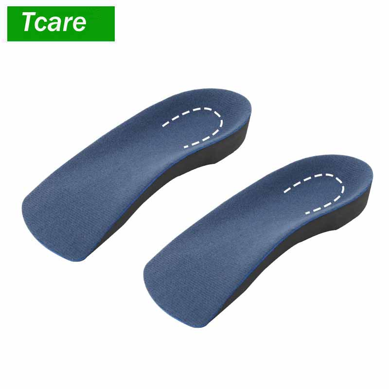 1Pair 3/4 Length Orthotic Shoe Insole Thin Arch and Heel SUPPORTS For Men and Women Perfect Inserts For Casual Flats Dress Shoes