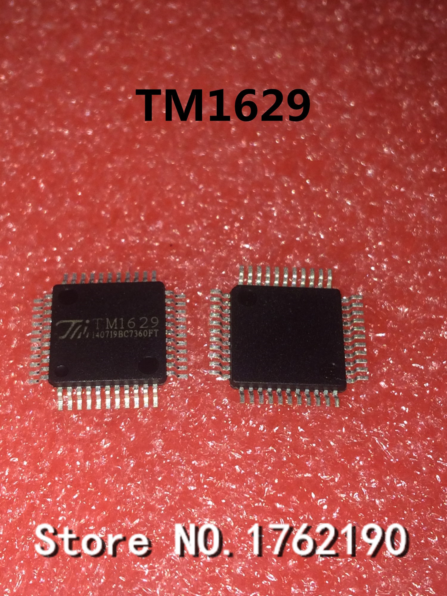 100pcs Lot 30f124 Gt30f124 To220f Liquid Crystal Plasma Brand New 5pcs Tm1629 Lqfp 44 Led Driver Chip