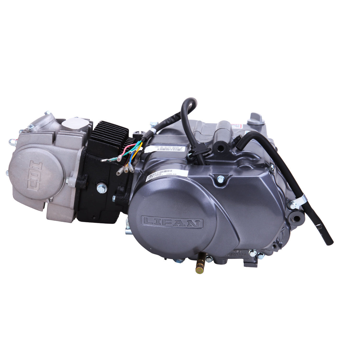 125CC CDI Dirt Bike Engine Motor Carb 124cm3 For Honda XR50 CRF50 XR CRF 50 70 125cc cdi dirt bike engine motor carb 124cm3 for honda xr50 crf50 1p52fmi-k wiring diagram at soozxer.org