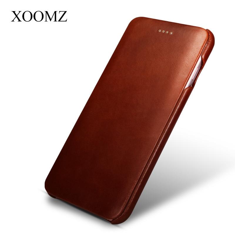 bilder für Für Apple iPhone 6 6 S/6 6 S Plus Top Qualität Reine Hand maß Luxus Echtem Leder Flip Ultra Slim Abdeckungs-fall Moblie Telefon Taschen