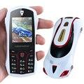 Newmind F1 Ruso Doble Tarjeta SIM bar de lujo de tamaño pequeño mini deporte superdeportivo fresco modelo de coche teléfono móvil celular móvil P074