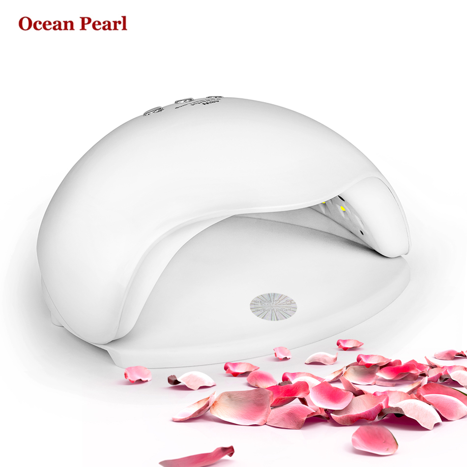 OCEAN PEARL SUN5X UV LED Lamp Nail Dryer 48W UV Lamp Double light Auto sensor Manicure Nail Lamp UV Gel Polish Nail Art Tools