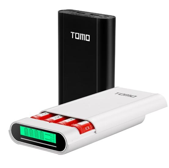 New TOMO M4 Smart Power Charger C4 X 18650 Li-ion Battery 5V 2A Powerbank Case Portable DIY Power Bank Box Charger 18650 Battery