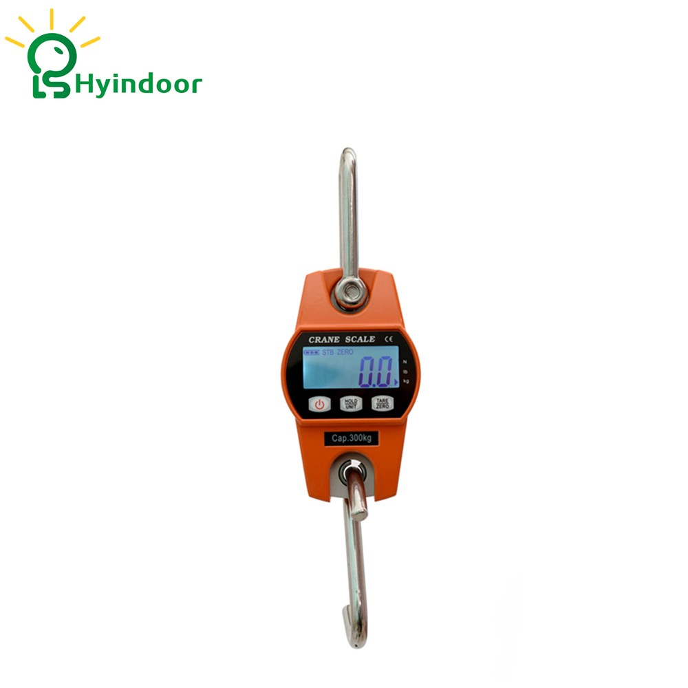 300kg High Accuracy Electronic Price Computing Weighing Scales Digital Hanging Hook Crane Scale