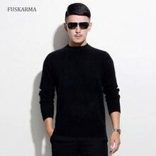 2016 Winter Brand New Fashion Männer Cashmere-Pullover Männer Pullover Pullover Langarm Casual Nerz Kaschmir Plus Größe Kleidung