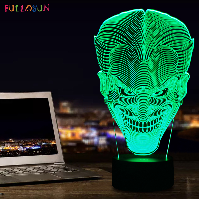 Amazing 3D Illusion led Table Lamp Nights