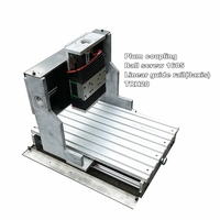 1 5kw air cooling spindle cnc router portable vacuum table spare parts  gantry moving mini machine center