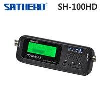 Origine Sathero SH-100HD Digital Pocket Satellite Finder Compteur HD DVBS2 USB 2.0 Signal DVB-S2 DVB-S SH-100 Numérique SatFinder
