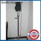 220 V/50 HZ Pompa Barile di Olio di Silicone di Resistenza Agli Acidi 10000CPS SS316 Verticale Pompa A Vite/Colla Pompa