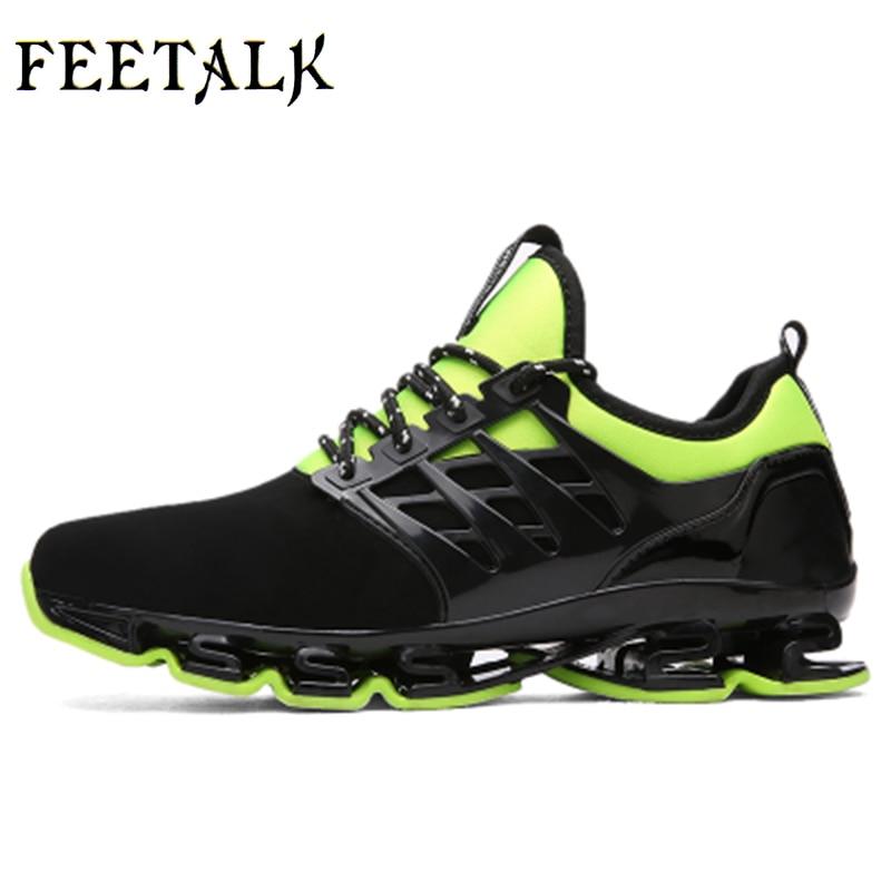 Super Cool traspirante in esecuzione scarpe uomo sneakers rimbalzo estate outdoor sport scarpe di Formazione Professionale più il formato 46