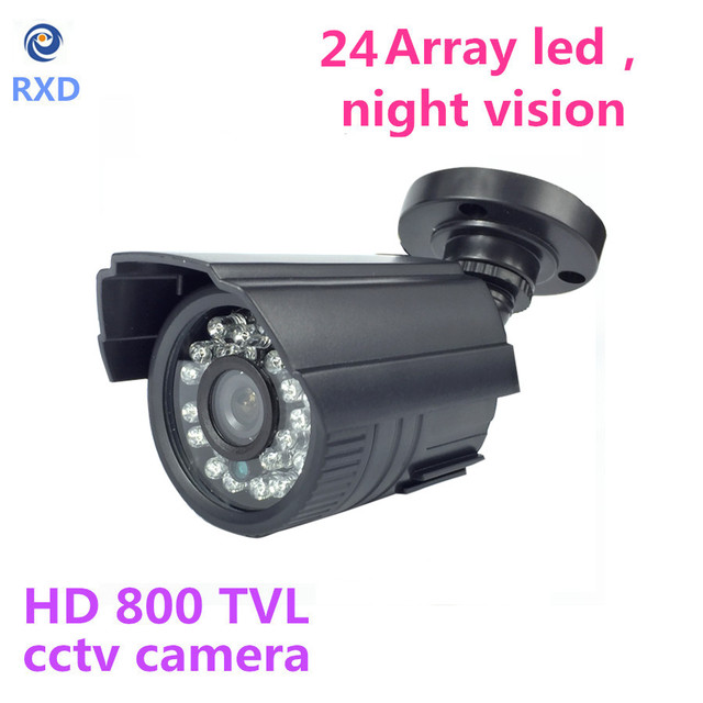 2016 Newest Freeshipping 24 Leds Invisible 940nm Ir Cctv Camera No Red Storm Nightvision CMOS 1200TVL Bullet HD Mini Cctv Camera