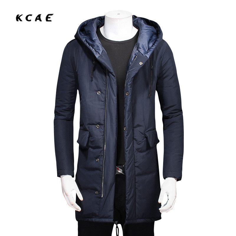 Winter Hooded Jacket Men Warm Thickening Brand Mens Jacket Coat Cotton Parka Men Winter Long Male Jacket Military Jacket