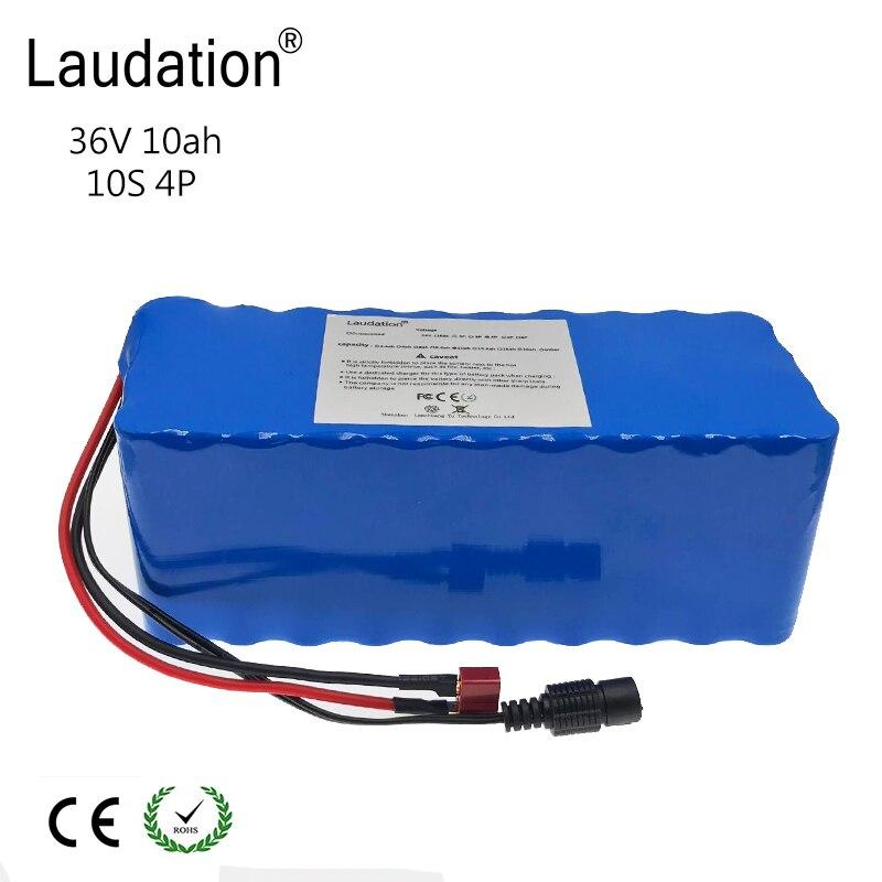 laudation 36v 10ah electric bike battery 18650 36V 8ah 10ah 12ah 500W High Power and Capacity